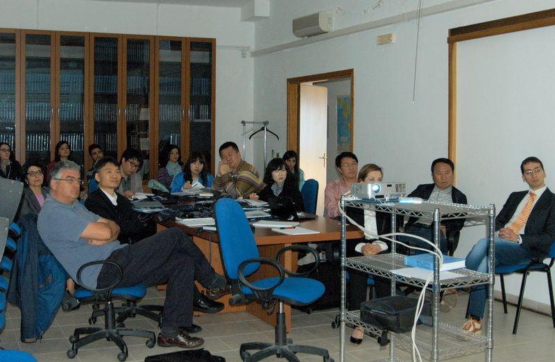 Visita di una delegazione della Corea del Sud nel NOEL